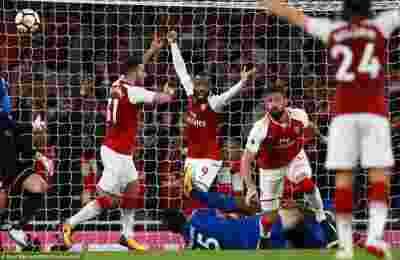 Hasil Arsenal vs Leicester City Liga Inggris