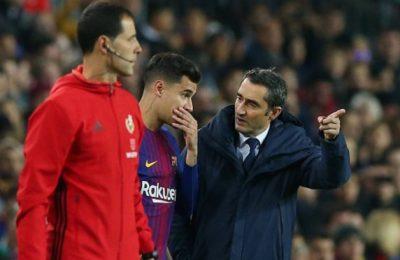 Pelatih Barcelona Beri Tanggapan Soal Penampilan Coutinho