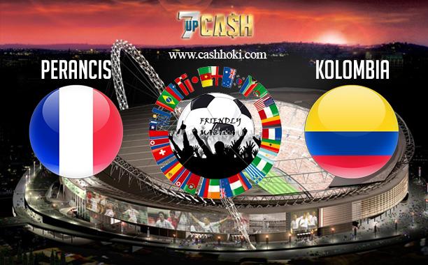 Prediksi Perancis vs Kolombia