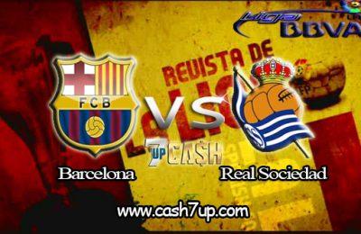 Prediksi Barcelona vs Real Sociedad