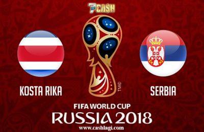 Prediksi Kosta Rika vs Serbia