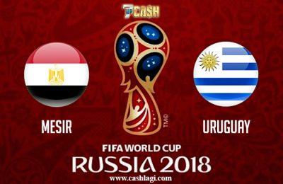 Prediksi Mesir vs Uruguay