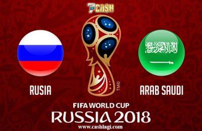 Prediksi Rusia vs Arab Saudi