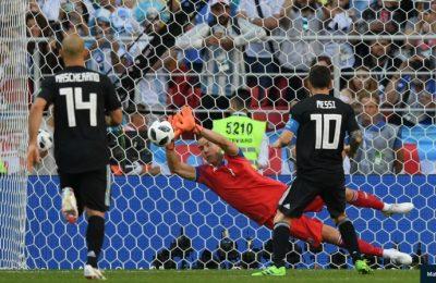 Hasil Argentina vs Islandia