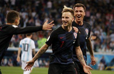 Hasil Argentina vs Kroasia