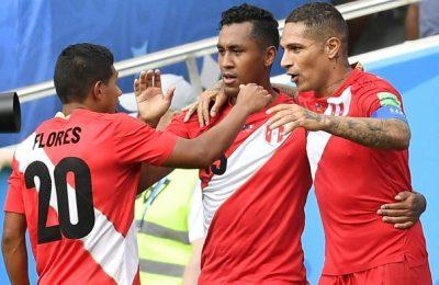 Hasil Australia vs Peru
