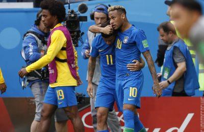 Hasil Brazil vs Kosta Rika