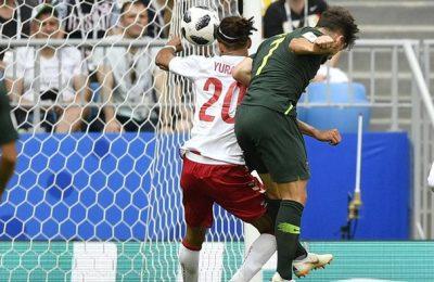 Hasil Denmark vs Australia