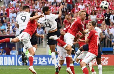 Hasil Denmark vs Perancis