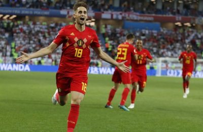 Hasil Inggris vs Belgia