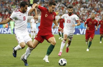 Hasil Iran vs Portugal