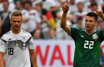 Hasil Jerman vs Meksiko