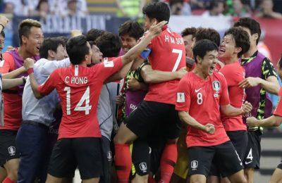 Hasil Korea Selatan vs Jerman