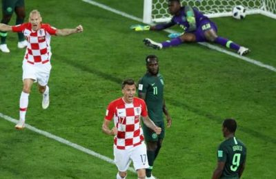 Hasil Kroasia vs Nigeria