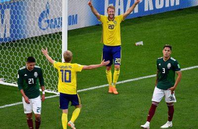Hasil Meksiko vs Swedia