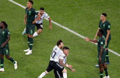 Hasil Nigeria vs Argentina