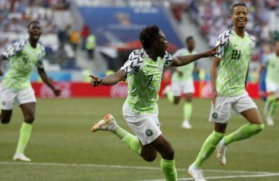 Hasil Nigeria vs Islandia