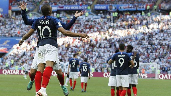 Hasil Perancis vs Argentina