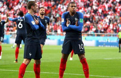 Hasil Perancis vs Peru