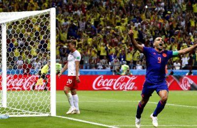 Hasil Polandia vs Kolombia