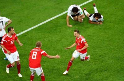 Hasil Rusia vs Mesir