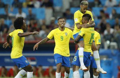 Hasil Serbia vs Brazil