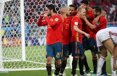 Hasil Spanyol vs Maroko