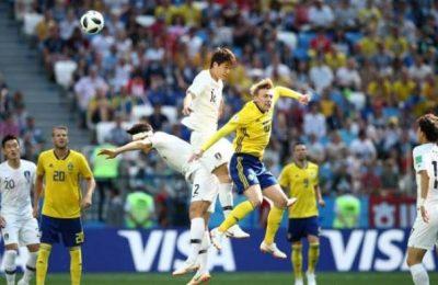 Hasil Swedia vs Korea Selatan