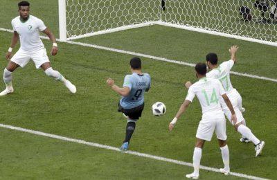Hasil Uruguay vs Arab Saudi