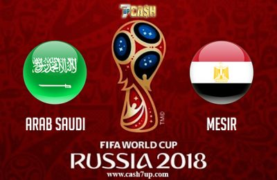 Prediksi Arab Saudi vs Mesir