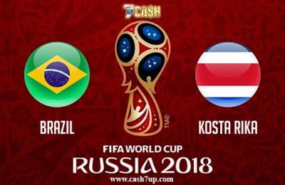 Prediksi Brazil vs Kosta Rika