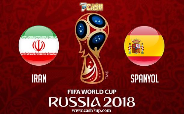 Prediksi Iran vs Spanyol