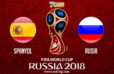 Prediksi Spanyol vs Rusia