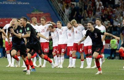 Hasil Kroasia vs Denmark