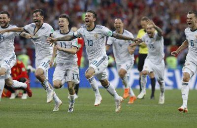 Hasil Spanyol vs Rusia