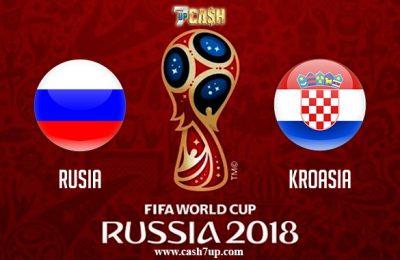 Prediksi Rusia vs Kroasia